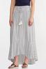 Plus Size Breezy Striped Maxi Skirt alternate view