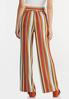 Striped Paperbag Palazzo Pants alternate view