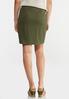 Olive Mini Skirt alternate view