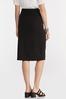 Plus Size Belted Pencil Skirt alternate view
