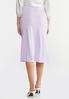 Lilac Slip Skirt alternate view
