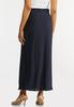 Plus Size Pleated Maxi Skirt alternate view