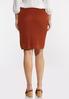 Rust Sweater Skirt alternate view