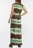 Plus Size Tie Dye Maxi Dress alternate view