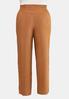 Plus Size Smocked Button Pants alternate view