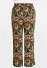 Plus Size Multi Deco Palazzo Pants alternate view