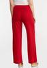 Red Gauze Pants alternate view