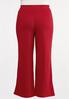 Plus Size Red Gauze Pants alternate view