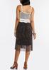 Printed Mesh Crochet Top Dress alternate view
