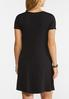 Plus Size Ruffled Pocket Shirt Dress alternate view