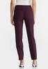 Purple Belted Bengaline Pants alternate view