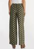 Dotted Olive Pants alternate view