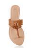 Croc Tasseled Thong Sandals alternate view