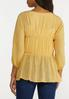 Plus Size Tiered Balloon Sleeve Top alternate view