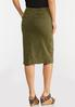 Green Pencil Skirt alternate view