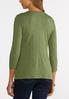 Plus Size Solid Layering Tee alternate view