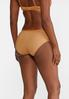 Plus Size White And Gold Panty Set alt view