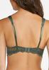 Plus Size Allover Lace Push- Up Bra Set alt view