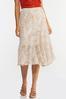 Plus Size Floral Breeze Midi Skirt alternate view