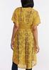 Plus Size Gold Lace Kimono alternate view