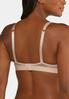 Plus Size Mesh Trim Wire- Free Bra alt view