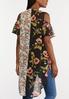 Cold Shoulder Flutter Sleeve Kimono alternate view