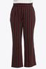 Plus Petite Striped Wide Leg Pants alternate view