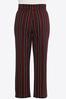 Plus Petite Striped Wide Leg Pants alt view