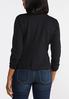 Plus Size Ruched Sleeve Knit Blazer alternate view