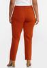 Plus Size Skinny 5- Pocket Ponte Pants alternate view