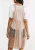Plus Size Gauzy Crochet Vest alternate view