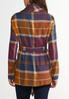 Sunset Plaid Belted Jacket alternate view