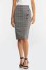 Plaid Pencil Skirt alternate view