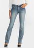 Petite Embellished Fleur De Lis Jeans alternate view