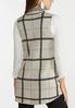 Plus Size Plaid Sweater Vest alternate view