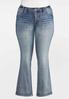 Plus Petite Fleur Di Lis Pocket Jeans alternate view