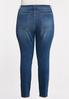 Plus Size High- Rise Skinny Jeans alternate view
