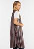 Plus Size Summer Sheer Print Vest alt view