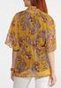 Gold Paisley Kimono alternate view