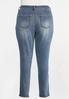 Plus Size Curvy Shape Enhancing Skinny Jeans alternate view