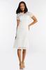 Plus Size Lace Midi Dress alternate view