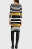 Ribbed Striped Sweater Dress alt view