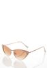 Nude Cateye Sunglasses alternate view