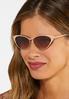 Nude Cateye Sunglasses alt view