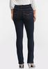 Petite High- Rise Bootcut Jeans alternate view