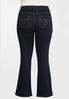 Plus Petite High- Rise Bootcut Jeans alternate view