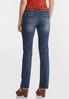 Petite Straight High- Rise Jeans alternate view