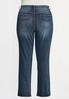 Plus Petite Straight High- Rise Jeans alternate view