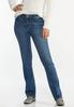 Angel Wing Bootcut Jeans alternate view
