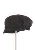 Solid Linen Cabbie Hat alternate view